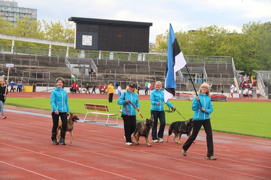 FCI IPO MM 2014 Malmö Rootsi Eesti meeskond