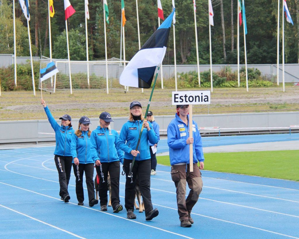 WUSV IPO MM 2015 Lahti Soome Eesti meeskond