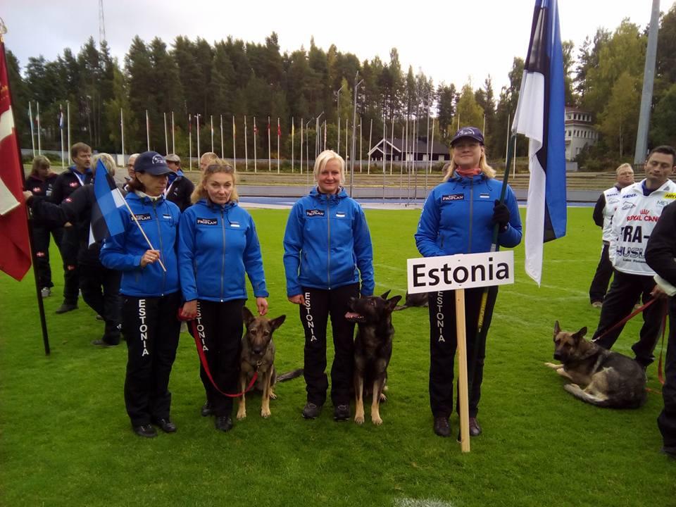 WUSV IPO MM 2015 Lahti Soome Eesti meeskond 3