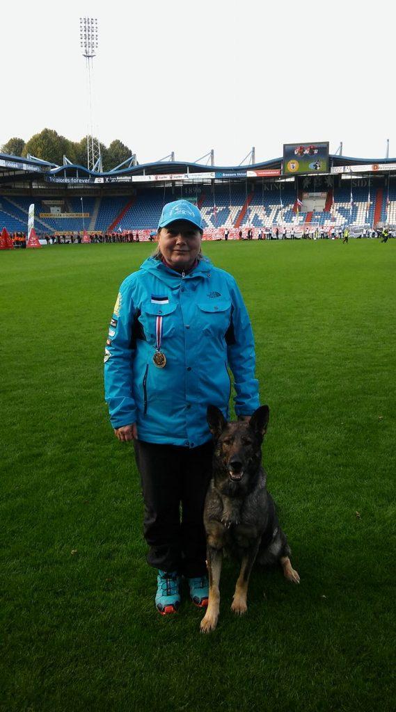 WUSV MM 2017 Tilburg Holland Ene Vöörmann ja Estrellest Dragon Darka