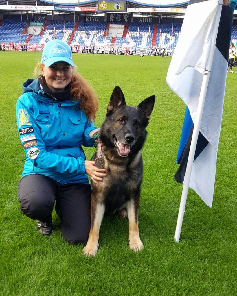 WUSV MM 2017 Tilburg Holland Karin Lageda ja Estrellest Jägermeister 1