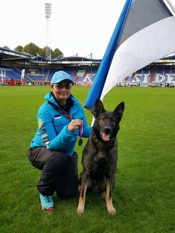 WUSV MM 2017 Tilburg Holland Urve Lageda ja Estrellest Von Vertex