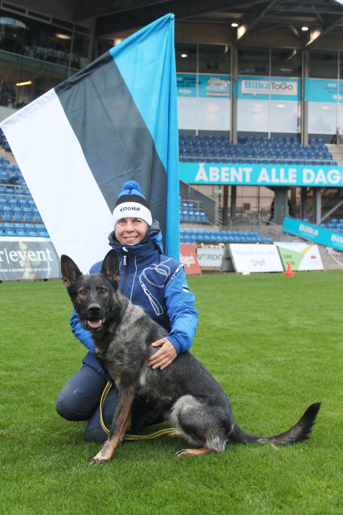 WUSV MM 2018 Randers Taani Thekla Degtjarjov ja Estrellest von Väle Virtin
